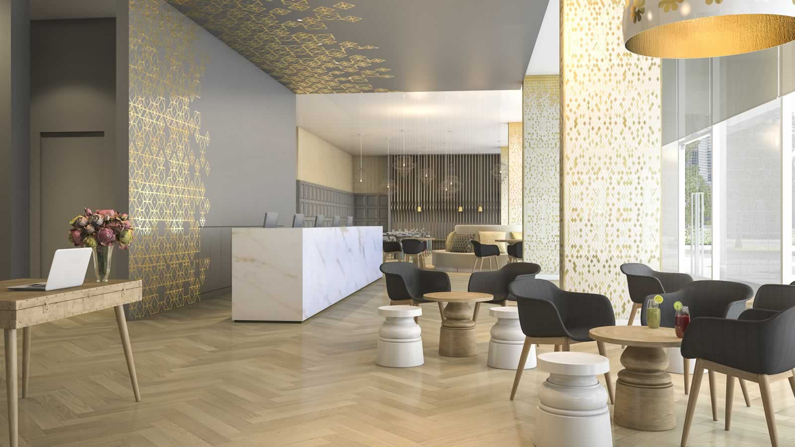 Corporate Lobby interior design