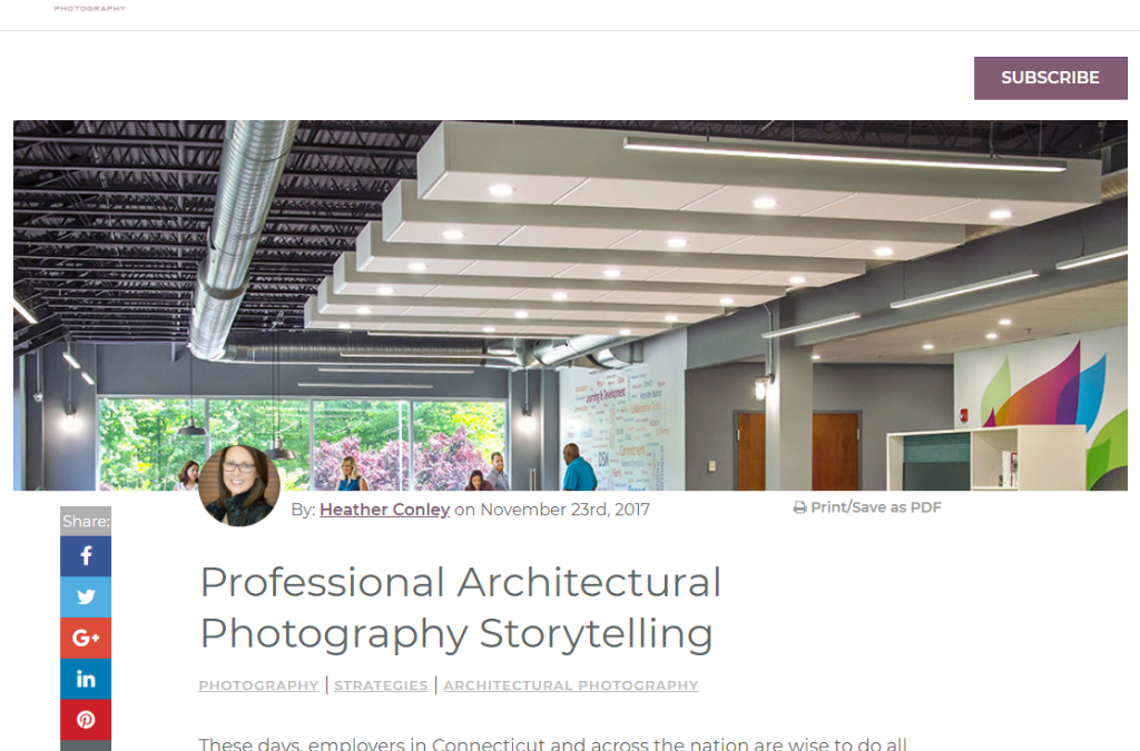 Using Your Space for Storytelling through Architectural Photography